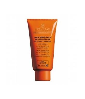 Solare Collistar Crema Abbronzante Protezione Ultra SPF 30, 150 ml Abbronzatura perfetta - Protezione viso e corpo