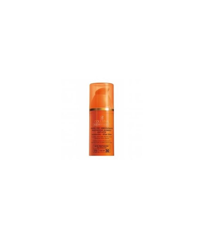 Collistar Crema Viso Abbronzante Protezione Globale Anti-Età SPF 30 50ml