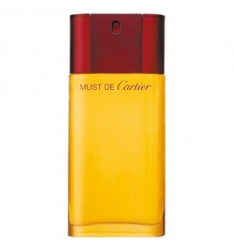 Cartier Must Eau de toilette spray donna - 100 ml