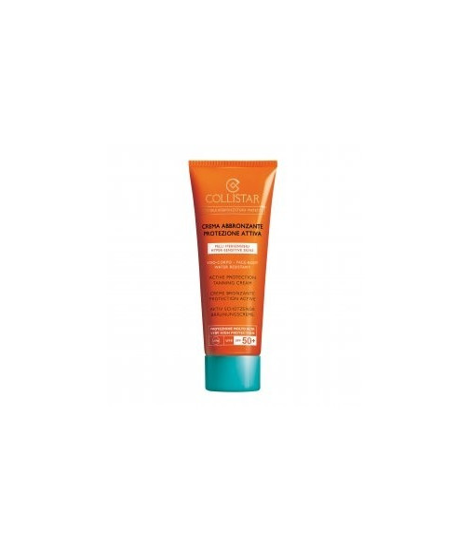 Collistar Crema Abbrozzante Protezione Attiva Viso e Corpo SPF 50 - 100 ml