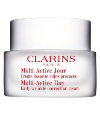 Clarins Multi-Active Jour Creme , Crema Giorno Viso Prime Rughe per Tutti i Tipi di Pelle 50 ml