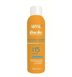 Arval Il Sole Invisible Soleil SPF 15 - Spray Trasparente Invisibile 200 ml