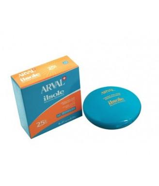 Arval IlSole Crema polvere abbronzante viso n.2 SPF 25 - 8 ml