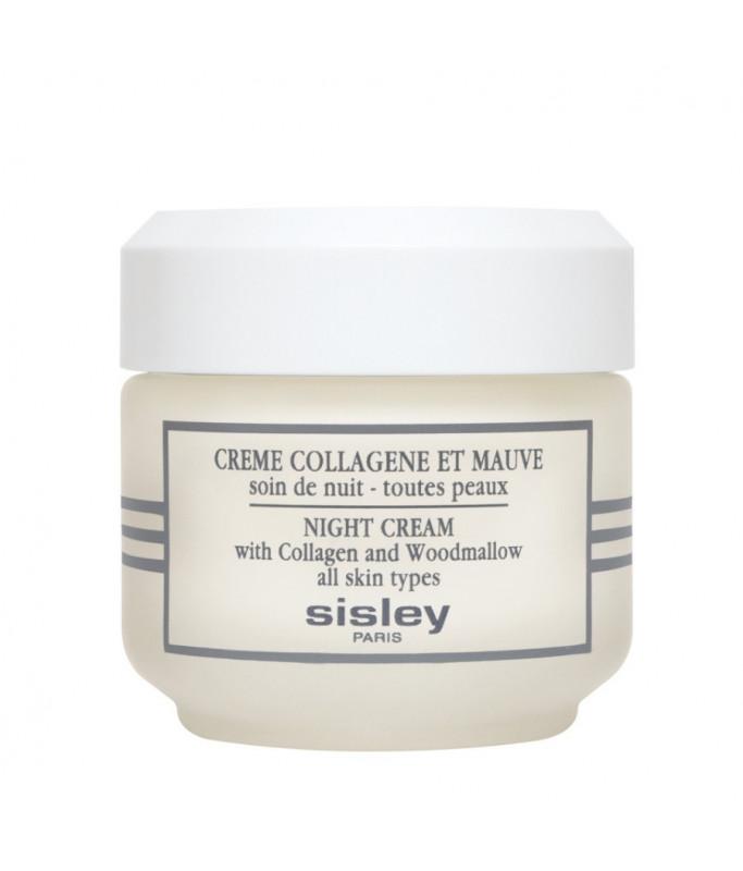 Sisley Paris Crème Collagène et Mauve 50 ml - Crema Notte Anti rughe al Collagene