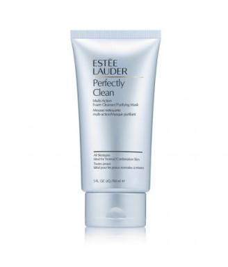 Estee Lauder Perfectly Clean Multi-Action Foam Cleanser/Purifyng Mask 150 ml - Schiuma Detergente Viso