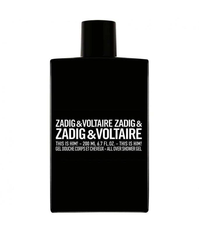 Bagno Doccia Zadig & Voltaire This is Him! 200 ml - Uomo