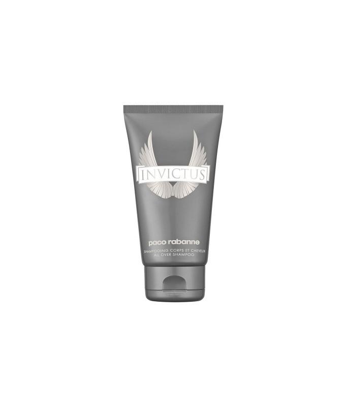 Paco Rabanne Invictus Pour Homme Alla Over Shampoo 150 ml Doccia Shampoo Capelli & Corpo