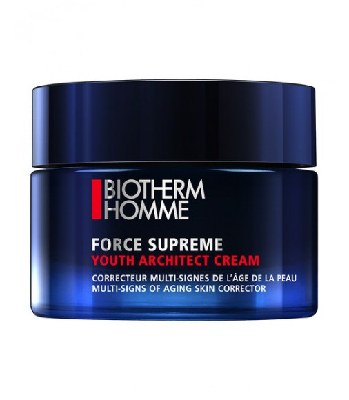Crema Biotherm, trattamento avanzato anti-età Force Supreme Youth Reshaping Cream 50 ml  viso uomo - trattamento viso