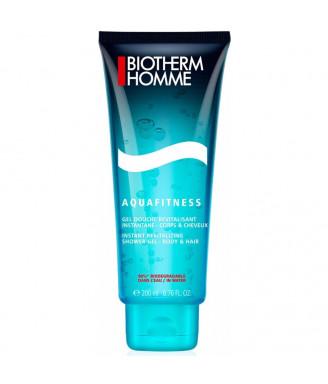 Detergente Biotherm Aquafitness Gel Douche uomo 200 ml - trattamento corpo