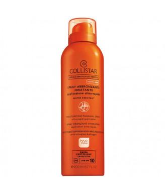 Solare Collistar Maxi-Taglia Spray Abbronzante Idratante Applicazione Ultra-Rapida Bassa Spf 10 200 ml - Protezione corpo
