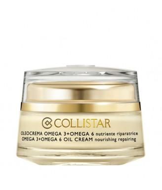 Collistar ATTIVI PURI® Oleocrema Omega 3 + Omega 6 nutriente riparatrice, 50 ml Viso donna
