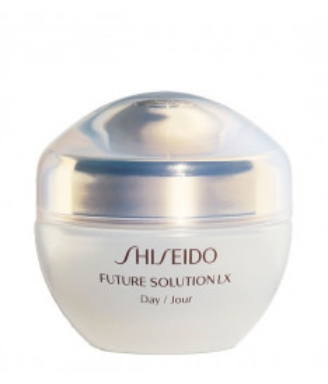 Crema Shiseido Future Solution Lx Total Protective Day Cream SPF 20 Viso donna giorno antirughe, 50 ml