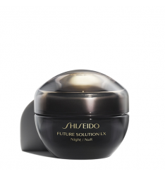 Crema Shiseido Future Solution Lx Total Regenerating  Crema notte 50 ml Tratt. viso donna antirughe,rigenerante