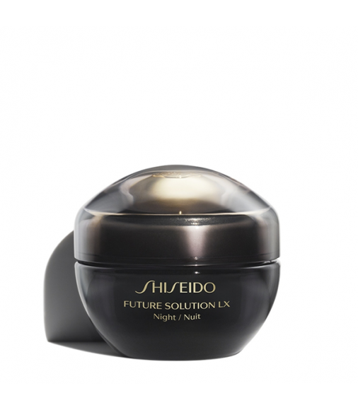 Crema Shiseido Future Solution Lx Total Regenerating Night Cream 50 ml Tratt. viso donna notte antirughe,rigenerante