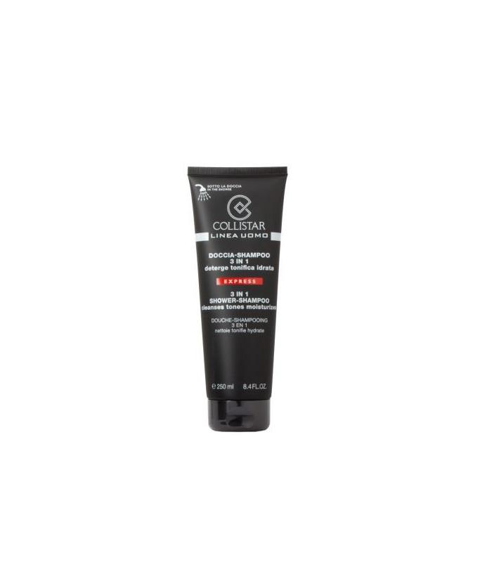 Detergente Collistar Linea uomo Doccia-Shampoo 3 in 1, 250 ml- Trattamento corpo