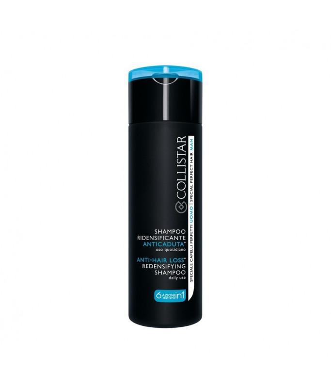 Collistar Speciale Capelli Shampoo Ridensificante Anticaduta 200 ml, Uomo