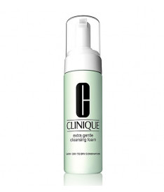 Detergente Clinique Extra Gentle Cleansing Foam, 125 ml -  Detergente in schiuma per pelli aride e sensibili
