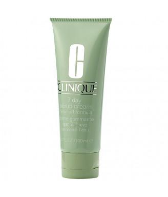 Crema Clinique 7 Day Scrub Rinse-Off Formula esfoliante granulare in crema 100 ml - Per tutti i tipi di pelle