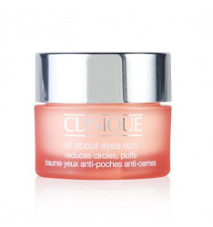 Clinique All About Eyes Rich 15 ml Crema-Gel Super idratante che riduce rughe, linee e gonfiori del Contorno Occhi