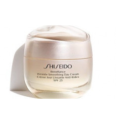 Shiseido Benefiance Wrinkle Smoothing Day Cream, 50 ml, SPF 25 - Trattamento viso donna anti age