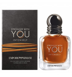 Profumo Emporio Armani Stronger With You Intensely, Eau de Parfum, spray - Profumo uomo