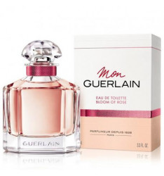 Profumo Guerlain Mon Guerlain Bloom of Rose Eau de Toilette spray - Profumo Donna