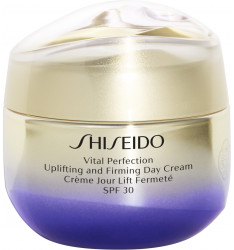 Shiseido Vital Perfection Uplifting & Firming Cream, 50 ml SPF 30 - crema viso donna lifting giorno